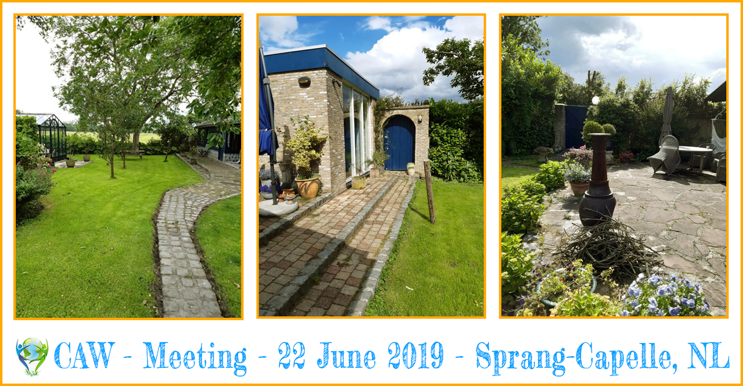 CAW Meeting: Sprang-Capelle (22Jun19)